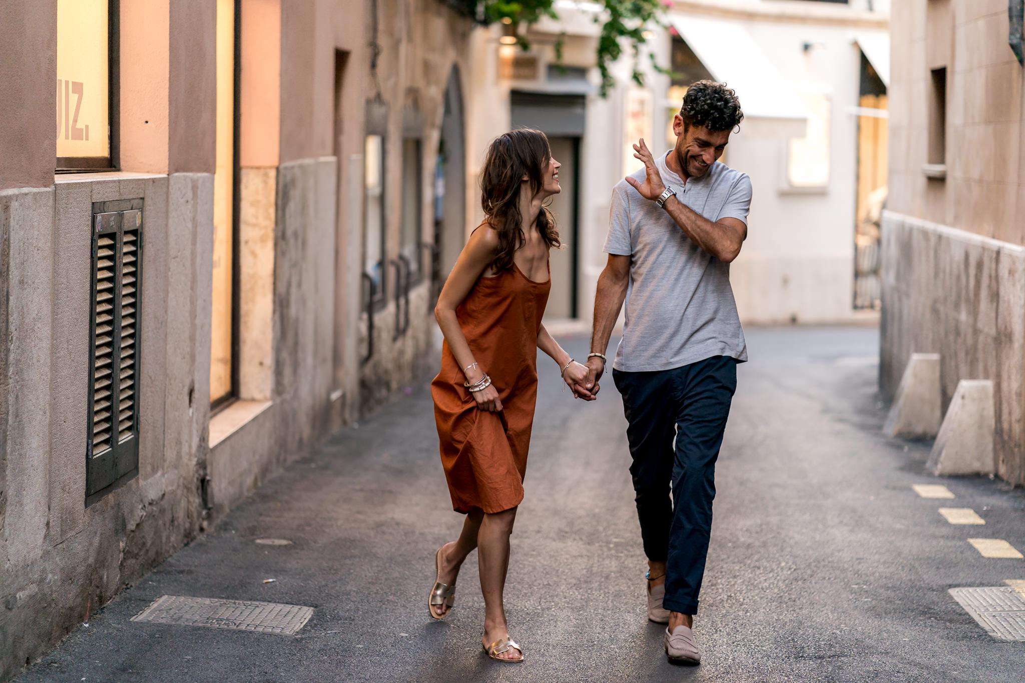 Ein Spaziergang altstadt von Palma